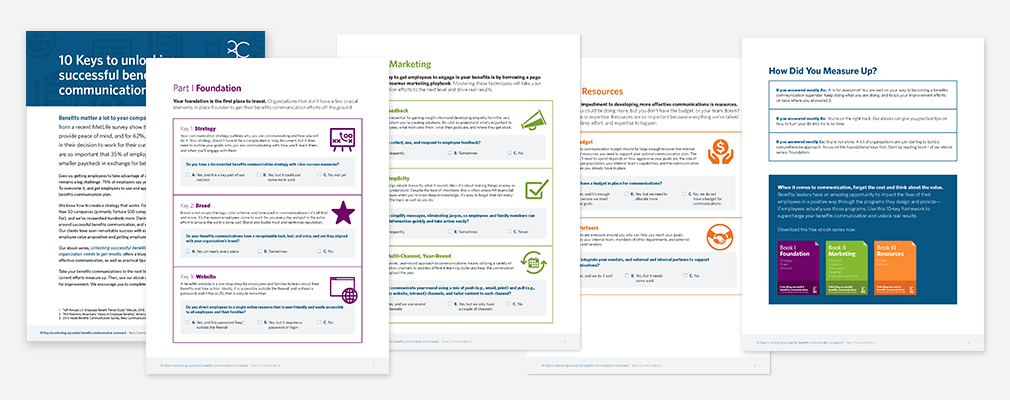 Use This Worksheet to Assess Your Benefits Communications