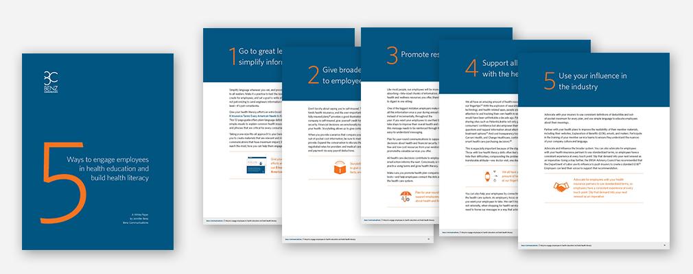 Health Literacy White Paper PDF