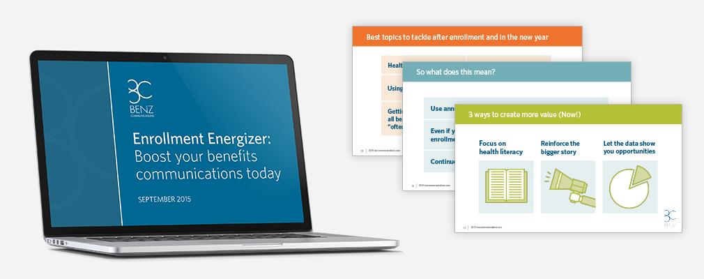 Enrollment Energizer Webinar