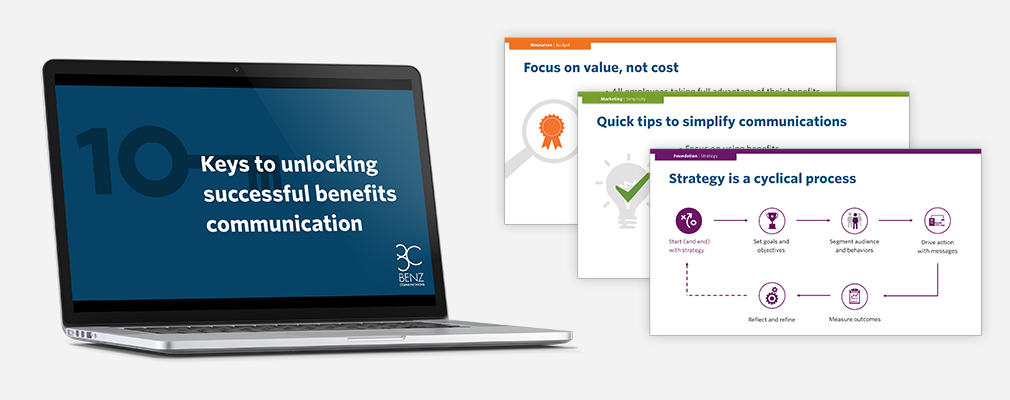 10 keys to unlocking successful benefits communication webinar